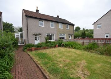 Thumbnail 2 bedroom semi-detached house for sale in Alloway Crescent, Rutherglen, Glasgow, South Lanarkshire