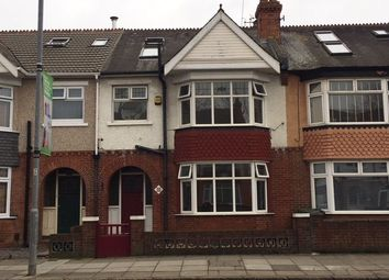 Thumbnail 4 bed terraced house to rent in Northern Parade, Portsmouth