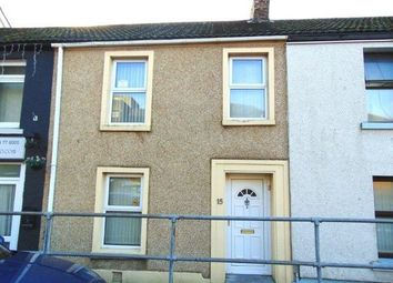 Thumbnail 3 bed terraced house to rent in Old Castle Road, Llanelli