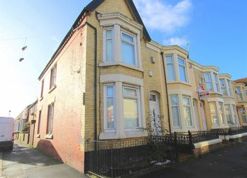 Thumbnail 4 bed terraced house for sale in Connaught Road, Kensington, Liverpool