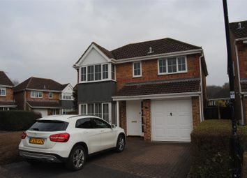 Thumbnail 4 bed detached house for sale in Greenwich Close, Swindon
