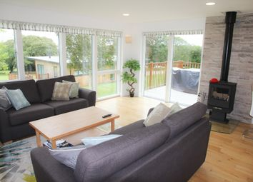 "Thumbnail 3 bed detached bungalow to rent in Lodge 5, ""Hazel"", Killiow Lodges, Killiow Estate, Truro"