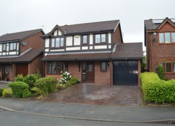 Thumbnail 4 bed detached house for sale in Rowanswood Drive, Hyde