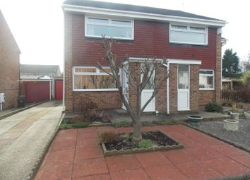 Thumbnail 2 bed semi-detached house to rent in Campion Grove, Marton-In-Cleveland, Middlesbrough