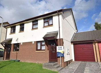 Thumbnail 2 bedroom semi-detached house for sale in Oakwell Close, Torrington