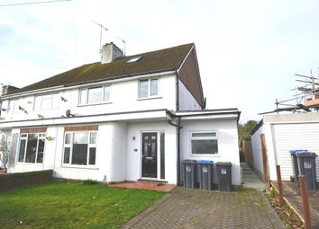 Thumbnail 4 bed semi-detached house for sale in Bramber Road, Broadwater, Worthing, West Sussex
