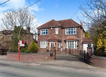 Thumbnail 4 bed detached house for sale in Glazebrook Lane, Glazebrook, Warrington, Cheshire