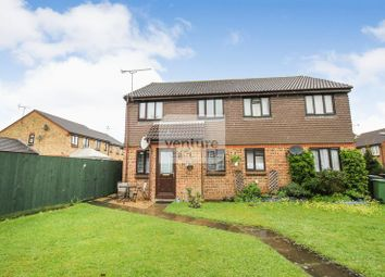 Thumbnail 1 bed semi-detached house for sale in Highfields Close, Dunstable