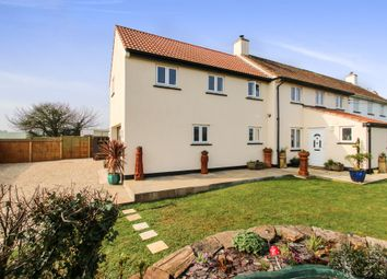 Thumbnail 4 bed semi-detached house for sale in Hills Cottages, Fitzhead, Taunton