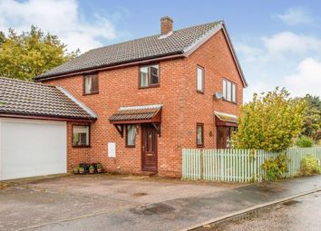 Thumbnail 4 bed link-detached house for sale in Tasburgh, Norwich, Norfolk