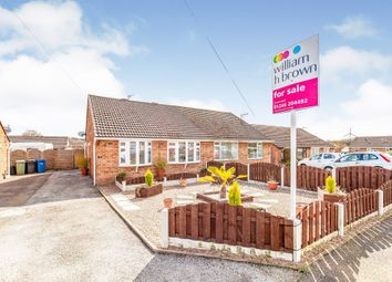 Thumbnail 3 bedroom semi-detached bungalow for sale in Caxton Close, New Whittington, Chesterfield