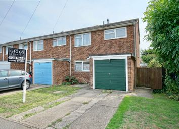Thumbnail 3 bed end terrace house for sale in Andrew Road, Eynesbury, St. Neots, Cambridgeshire