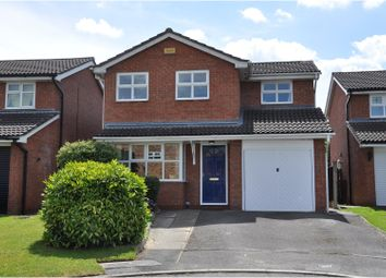 Thumbnail 3 bed detached house for sale in Chilworth Close, Crewe