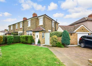Thumbnail 3 bed end terrace house for sale in Hall Avenue, Aveley, South Ockendon, Essex