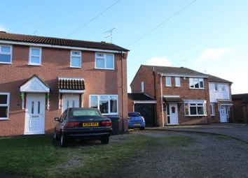 Thumbnail 2 bed semi-detached house for sale in Lime Avenue, Groby, Leicester