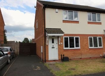 Thumbnail 2 bed semi-detached house for sale in Bickley Road, Bilston