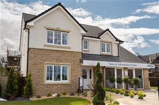 Thumbnail 4 bed detached house for sale in The Birkdale Off Kilmarnock Road, Troon