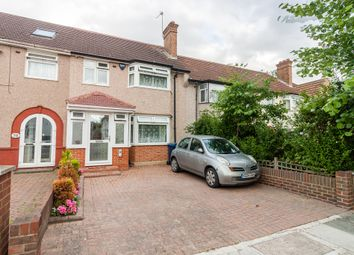 Thumbnail 3 bed terraced house for sale in Ennismore Avenue, Greenford