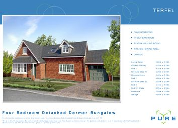 Thumbnail 4 bed detached bungalow for sale in Plot 47 Terfel, Cae Topyn, Denbigh