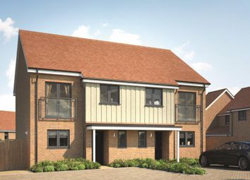 Thumbnail 3 bed semi-detached house for sale in The Coleus At Springhead Park, Wingfield Bank, Northfleet, Gravesend