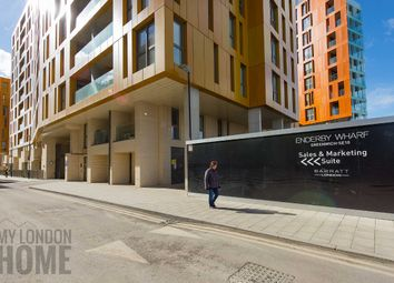 Thumbnail 1 bed flat for sale in Enderby Wharf, Greenwich, London