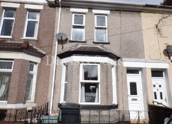 Thumbnail 3 bed terraced house for sale in Wingate Street, Off Mendalgief Road, Newport.