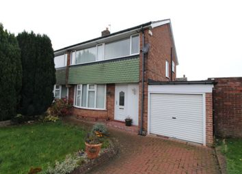 Thumbnail 3 bed semi-detached house to rent in Aisgill Drive, West Denton, Newcastle Upon Tyne