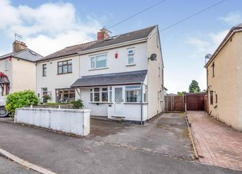 Thumbnail 3 bed semi-detached house for sale in Spring Street, Cannock, Staffordshire