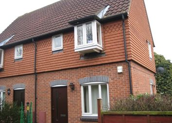 Thumbnail 1 bed semi-detached house to rent in Bartholomew Drive, Harold Wood