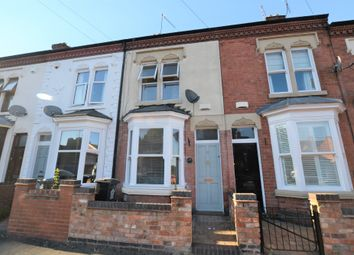 Thumbnail 2 bed terraced house for sale in Shaftesbury Road, Leicester