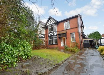 Thumbnail 4 bedroom semi-detached house for sale in Davenport Park Road, Davenport, Stockport, Cheshire