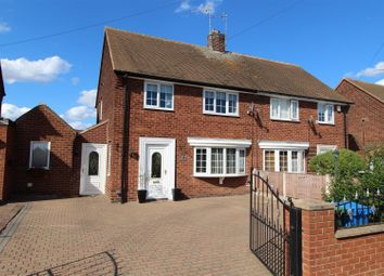 Thumbnail 3 bed semi-detached house for sale in Chesterton Drive, Worksop