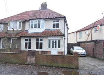 Thumbnail 3 bedroom semi-detached house for sale in Harecroft Parade, King's Lynn