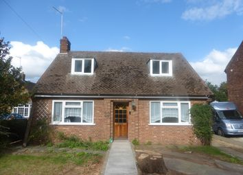 Thumbnail 4 bed bungalow to rent in Oundle Road, Orton Longueville, Peterborough