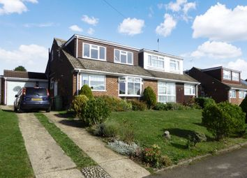 Thumbnail 3 bed semi-detached house to rent in Kirkstone Drive, Dunstable
