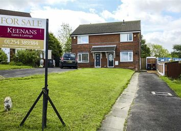 Thumbnail 3 bed semi-detached house for sale in Martindale Close, Guide, Blackburn