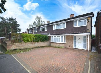 Thumbnail 3 bed semi-detached house for sale in Ballard Road, Camberley, Surrey