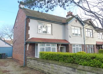 Thumbnail 3 bed semi-detached house to rent in Woodhey Road, Bebington, Wirral