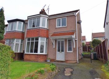 Thumbnail 3 bed semi-detached house for sale in Marine View, Rhos On Sea, Colwyn Bay, Conwy