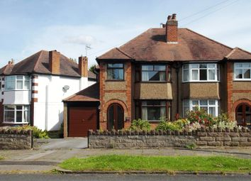 Thumbnail 3 bed semi-detached house for sale in Midhurst Road, Kings Norton, Birmingham