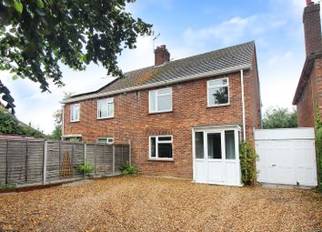 Thumbnail 3 bed semi-detached house for sale in St. Johns Road, Stalham, Norwich