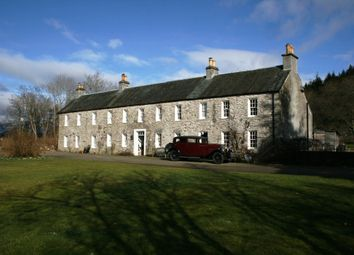 Thumbnail 10 bed detached house for sale in Private Road, Ballinluig Near Pitlochry