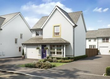 "Thumbnail 3 bed detached house for sale in ""Cheadle"" at Kergilliack Road, Falmouth"