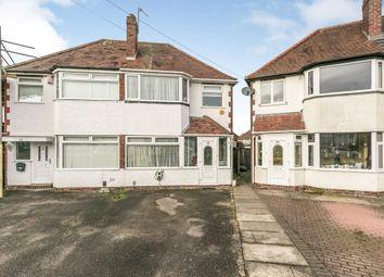 3 bed semi-detached house for sale in Corville Gardens, Sheldon, Birmingham B26