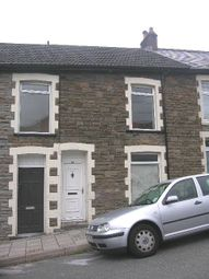Thumbnail 3 bed terraced house to rent in Hughes Street, Penygraig