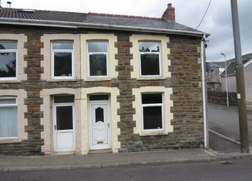 Thumbnail 3 bedroom end terrace house for sale in Gwendoline Street, Blaengarw, Bridgend