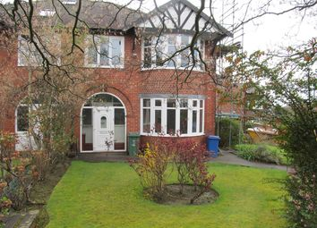Thumbnail 4 bed semi-detached house to rent in Bishops Road, Prestwich, Manchester