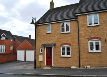 Thumbnail 3 bed end terrace house for sale in Tippett Avenue, Redhouse, Swindon