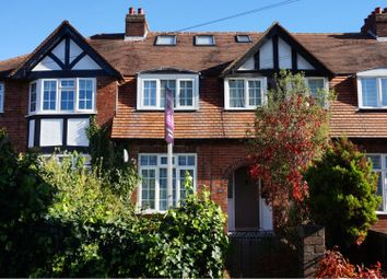 Thumbnail 4 bed terraced house for sale in Garden Road, Walton-On-Thames