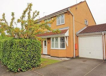 Thumbnail 3 bed semi-detached house to rent in Burchnall Road, Leicester, Leicestershire
